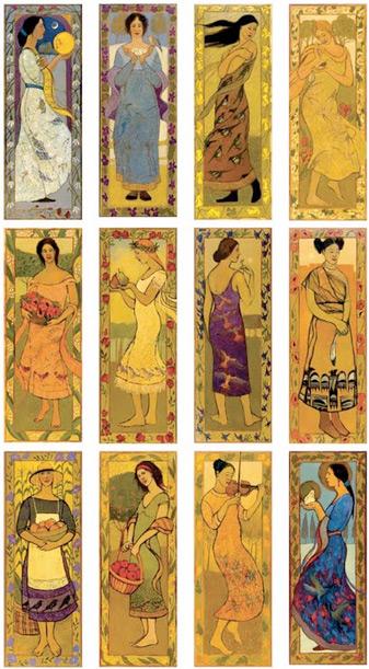 12 Women Painting